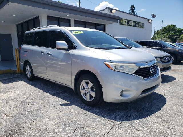 2013 Nissan Quest for sale at Mike Auto Sales in West Palm Beach FL