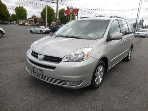 2005 Toyota Sienna for sale at Leavitt Auto Sales and Used Car City in Everett WA