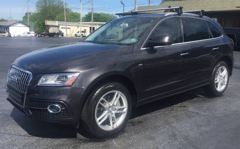 2016 Audi Q5 for sale at G L TUCKER AUTO SALES in Joplin MO