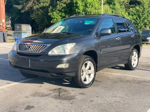 2008 Lexus RX 350 for sale at Luxury Cars of Atlanta in Snellville GA
