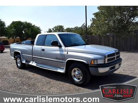 2000 Dodge Ram Pickup 2500 for sale at Carlisle Motors in Lubbock TX