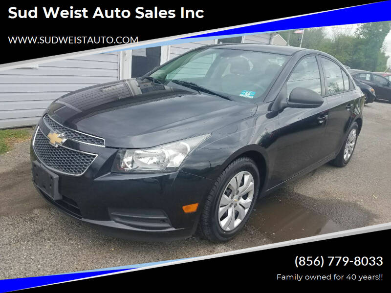 2013 Chevrolet Cruze for sale at Sud Weist Auto Sales Inc in Maple Shade NJ