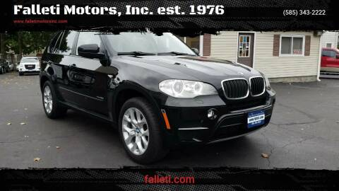 2012 BMW X5 for sale at Falleti Motors, Inc.  est. 1976 in Batavia NY