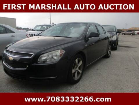 2008 Chevrolet Malibu for sale at First Marshall Auto Auction in Harvey IL