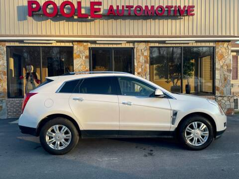 2012 Cadillac SRX for sale at Poole Automotive in Laurinburg NC
