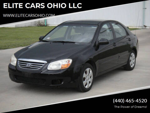 2008 Kia Spectra for sale at ELITE CARS OHIO LLC in Solon OH
