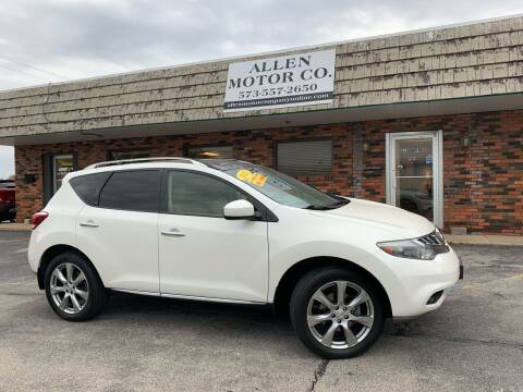2013 Nissan Murano for sale at Allen Motor Company in Eldon MO