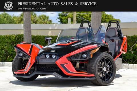 2019 Polaris Slingshot SLR for sale at Presidential Auto  Sales & Service in Delray Beach FL
