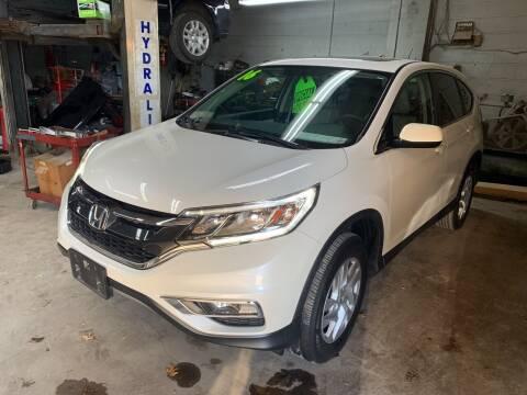 2016 Honda CR-V for sale at Frank's Garage in Linden NJ