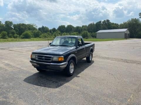 1996 Ford Ranger for sale at Caruzin Motors in Flint MI