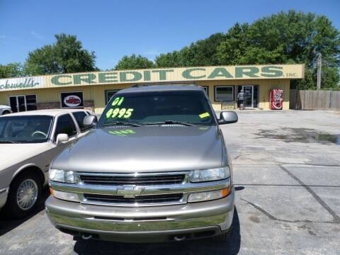 2001 Chevrolet Tahoe for sale at Credit Cars of NWA in Bentonville AR