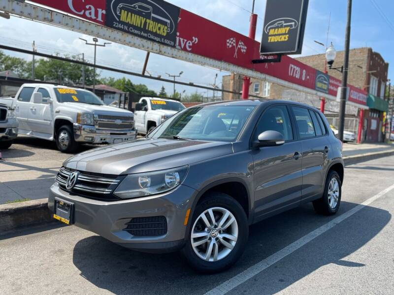 2014 Volkswagen Tiguan for sale at Manny Trucks in Chicago IL
