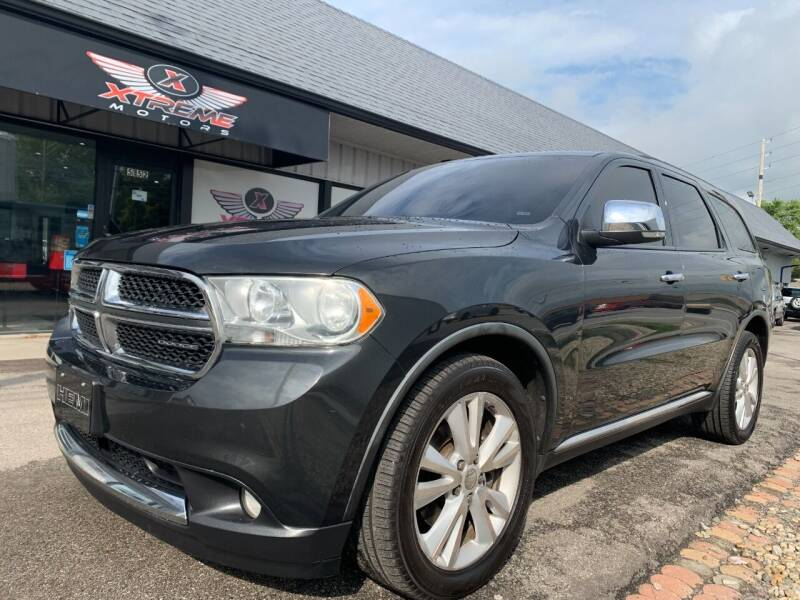 2011 Dodge Durango for sale at Xtreme Motors Inc. in Indianapolis IN