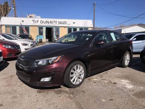 2015 Kia Optima for sale at Top Gun Auto Sales, LLC in Albuquerque NM