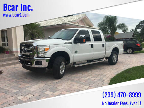 2016 Ford F-250 Super Duty for sale at Bcar Inc. in Fort Myers FL