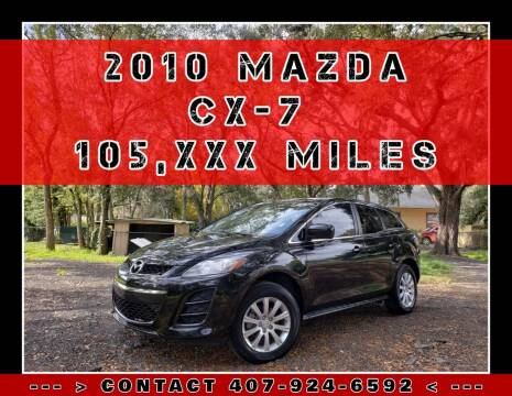 2010 Mazda CX-7 for sale at AFFORDABLE ONE LLC in Orlando FL