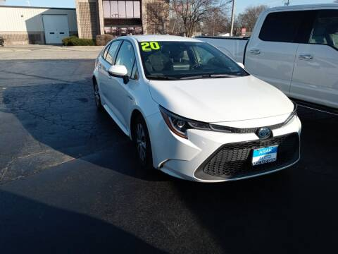 2020 Toyota Corolla Hybrid for sale at Arak Auto Group in Bourbonnais IL