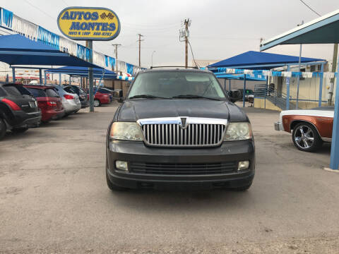 2005 Lincoln Navigator for sale at Autos Montes in Socorro TX