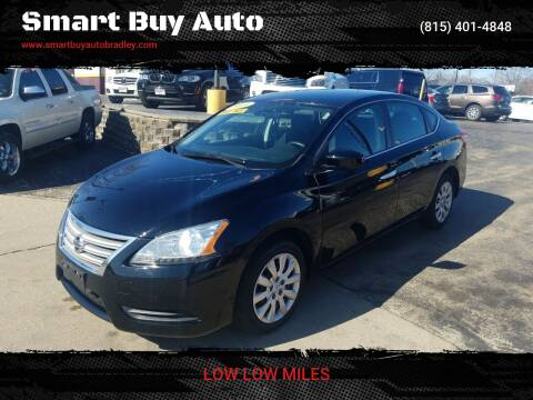 2013 Nissan Sentra for sale at Smart Buy Auto in Bradley IL