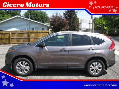 2012 Honda CR-V for sale at Cicero Motors in Cicero IN