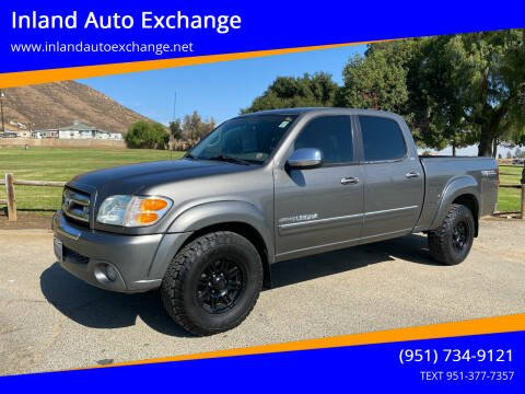 2004 Toyota Tundra for sale at Inland Auto Exchange in Norco CA