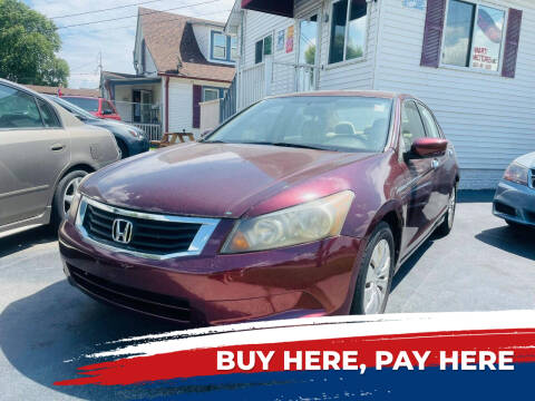 2009 Honda Accord for sale at Marti Motors Inc in Madison IL