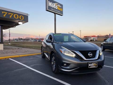 2016 Nissan Murano for sale at MotoMaxx in Spring Lake Park MN