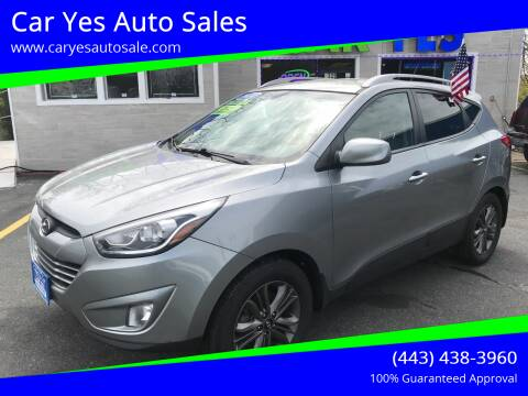 2014 Hyundai Tucson for sale at Car Yes Auto Sales in Baltimore MD