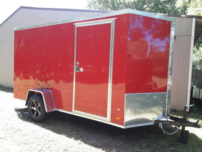 2019 Covered Wagon CW6X12SA for sale at Texas Auto Trailer Exchange - 6 x Trailers in Cleburne TX