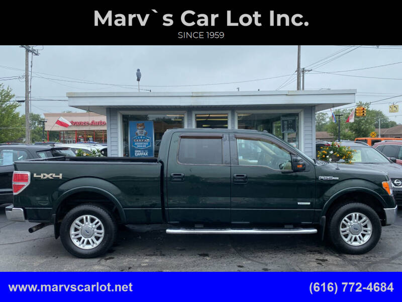 2014 Ford F-150 for sale at Marv`s Car Lot Inc. in Zeeland MI