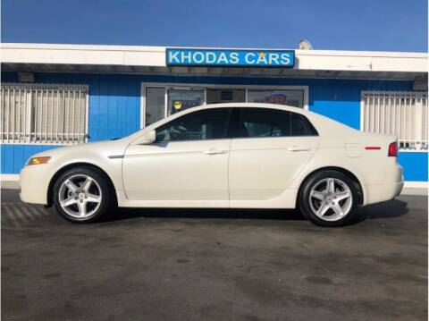 2005 Acura TL for sale at Khodas Cars in Gilroy CA