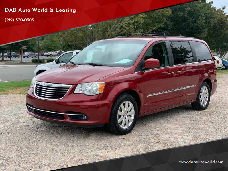 2014 Chrysler Town and Country for sale at DAB Auto World & Leasing in Wake Forest NC