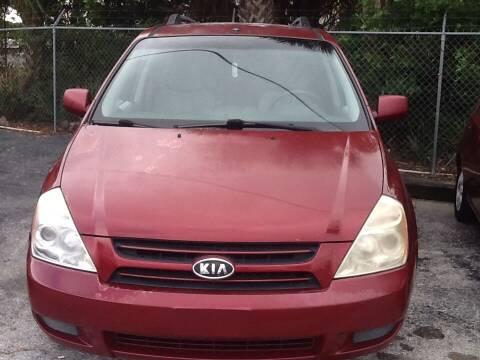 2007 Kia Sedona for sale at Easy Credit Auto Sales in Cocoa FL