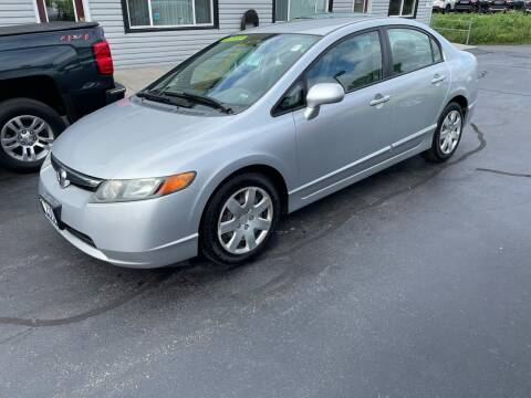 2006 Honda Civic for sale at Shermans Auto Sales in Webster NY