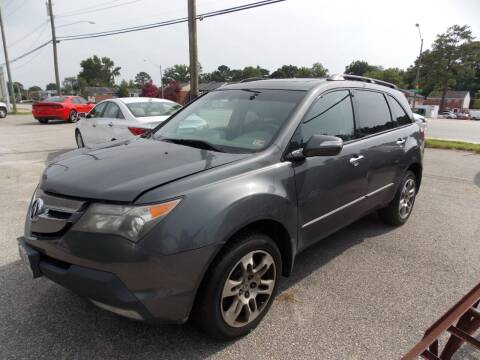 2007 Acura MDX for sale at Deer Park Auto Sales Corp in Newport News VA