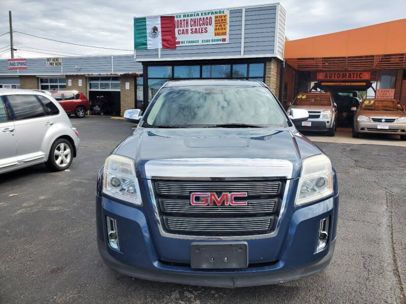 2012 GMC Terrain for sale at North Chicago Car Sales Inc in Waukegan IL