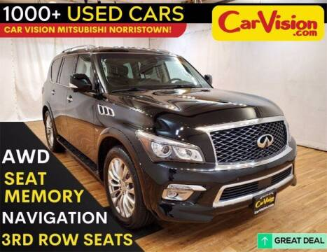 2017 Infiniti QX80 for sale at Car Vision Buying Center in Norristown PA