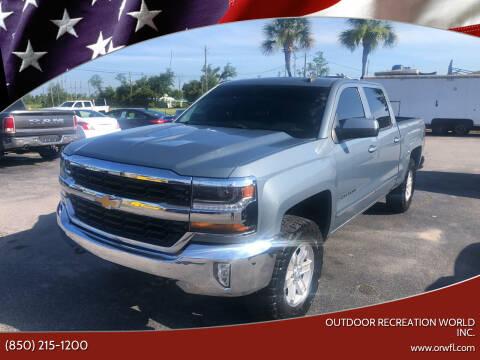 2016 Chevrolet Silverado 1500 for sale at Outdoor Recreation World Inc. in Panama City FL