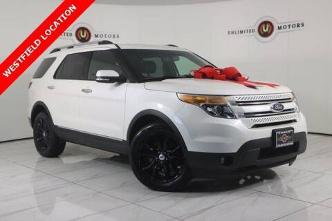 2015 Ford Explorer for sale at INDY'S UNLIMITED MOTORS - UNLIMITED MOTORS in Westfield IN