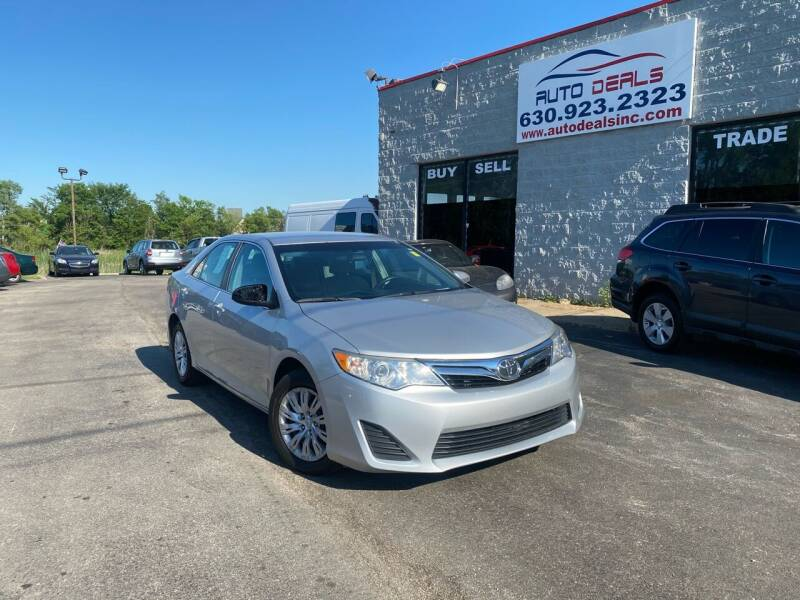 2014 Toyota Camry for sale at Auto Deals in Roselle IL