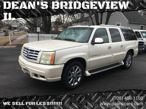 2004 Cadillac Escalade ESV for sale at DEANSCARS.COM in Bridgeview IL