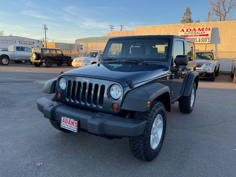 2008 Jeep Wrangler for sale at Adams Auto Sales in Sacramento CA