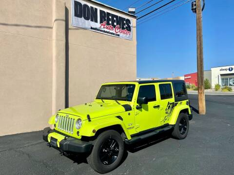 2017 Jeep Wrangler Unlimited for sale at Don Reeves Auto Center in Farmington NM