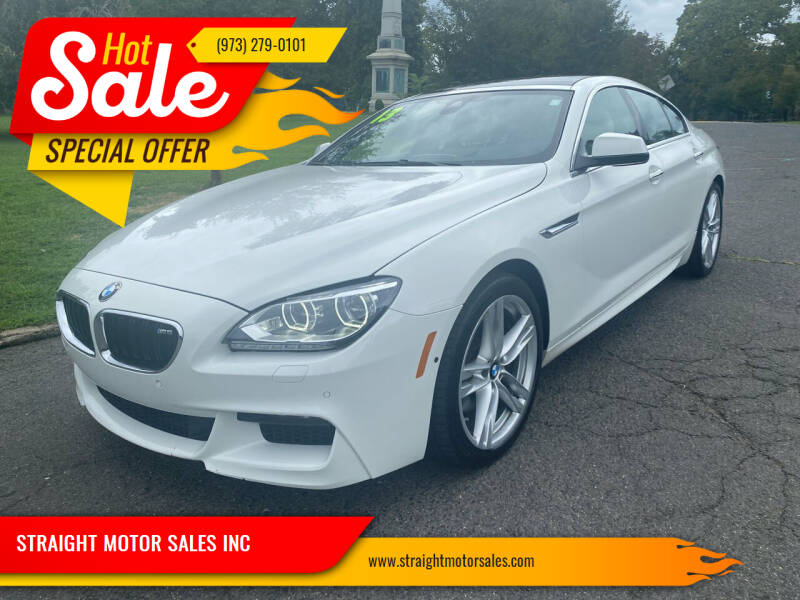 2013 BMW 6 Series for sale at STRAIGHT MOTOR SALES INC in Paterson NJ