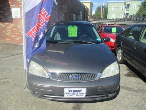 2006 Ford Focus for sale at MERROW WHOLESALE AUTO in Manchester NH