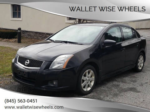 2010 Nissan Sentra for sale at Wallet Wise Wheels in Montgomery NY