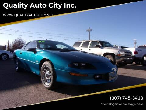 1995 Chevrolet Camaro for sale at Quality Auto City Inc. in Laramie WY