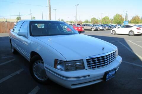 1998 Cadillac DeVille for sale at Choice Auto & Truck in Sacramento CA