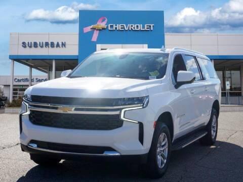 2021 Chevrolet Suburban for sale at Suburban Chevrolet of Ann Arbor in Ann Arbor MI