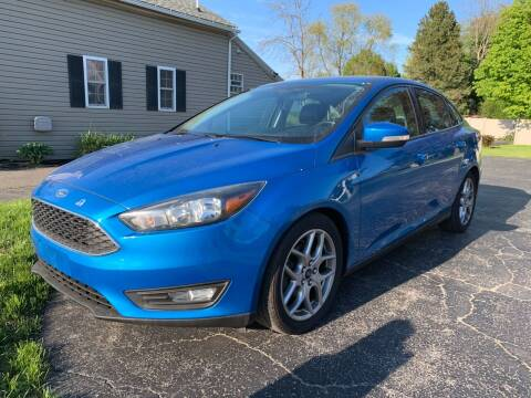2015 Ford Focus for sale at Tomasello Truck & Auto Sales, Service in Buffalo NY